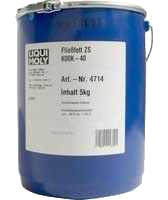 Жидкая консистентная смазка - Liqui Moly Fliessfett ZS K00K-40  5 л.