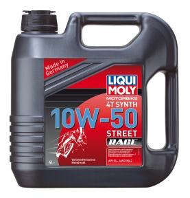Масло для 4-тактных двигателей - Liqui Moly Racing Synth 4T 10W-50 HD
