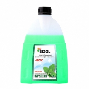 Омыватель стекол BIZOL WINTER SCREEN WASH -80C conc. alpine mint