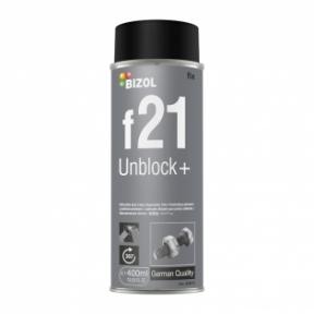 Растворитель ржавчины з MoS2 BIZOL Unblock+  f21