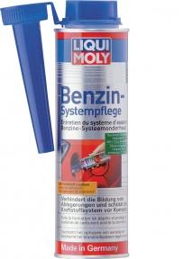 Присадка для ухода за бензиновой системой впрыска Liqui Moly BENZIN-SYSTEM-PFLEGE 0,3Л