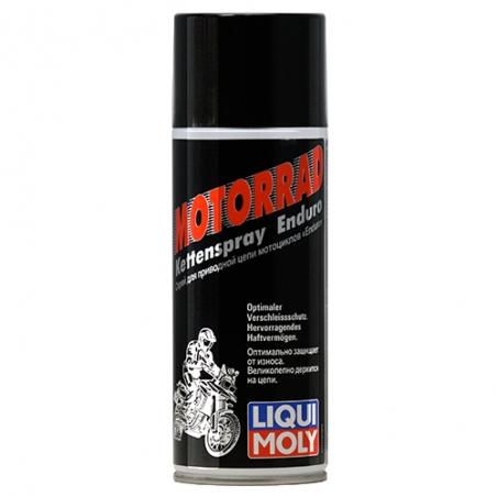 Смазка для цепи - Liqui Moly Motorrad Kettenspray Enduro  0.4 л.